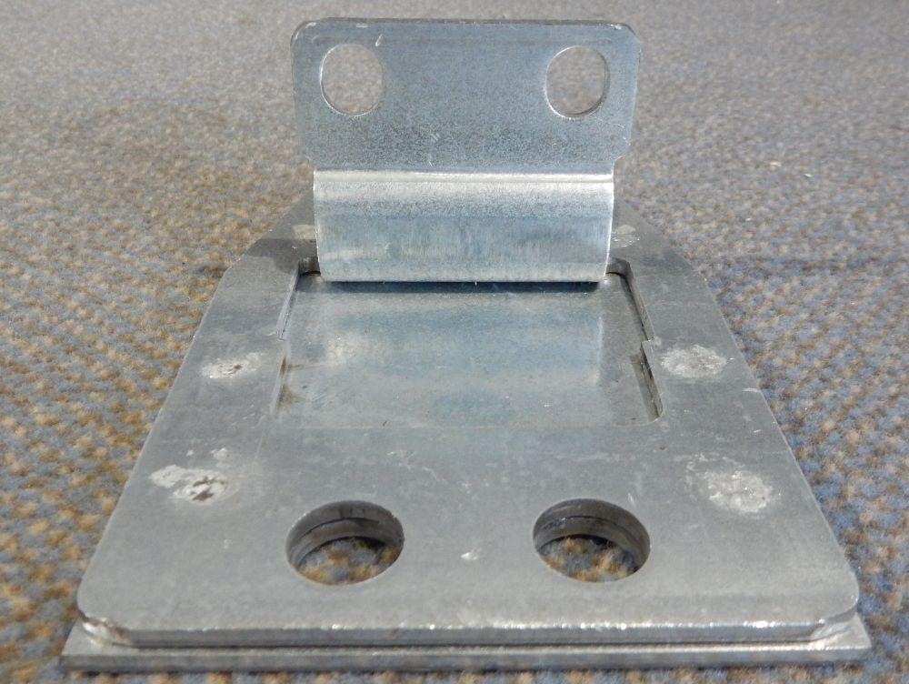 2 Dexion Palettenregal Regal Rahmen Ständer Fuß Füße Fußplatte S 4 ...