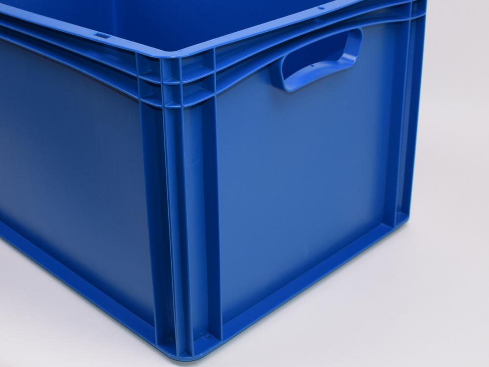 600 x 400 x 320 Eurobox Industriebox Lagerkasten blau Stapelbox Kunststoffkiste