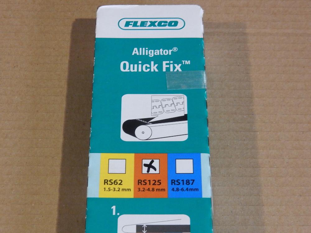 Flexco Alligator Quick Fix Fördergurt Verbindungsset RS125 QF24 ...