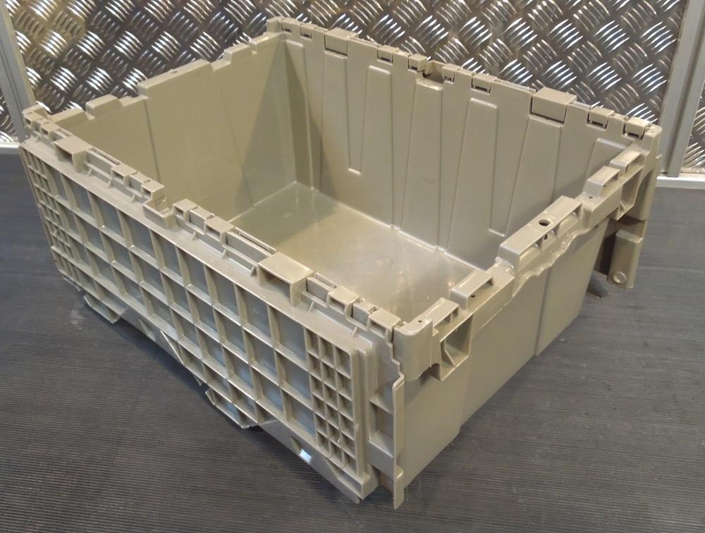 1 monoflo industriebox deckelbox stapelbeh lter beh lter. Black Bedroom Furniture Sets. Home Design Ideas