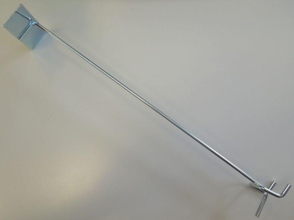 Befestigungsteile & Eisenwaren UnabhäNgig 100 Scanner Bolzen, Stifte & Splinte Schienenhalter 320 Mm Lochwandhaken Etikettenhalter Preisschild